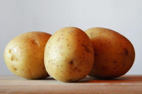 Aardappelen in oven