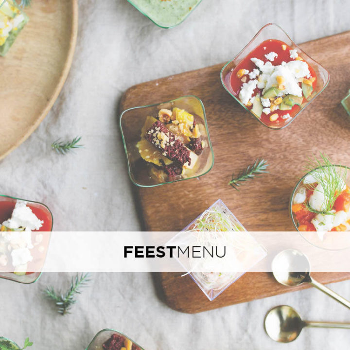 Feestmenu Visual