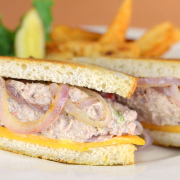 Recept Tuna Melt